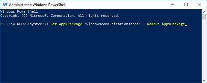 AppxPackage
