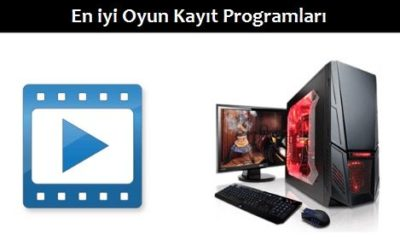 En iyi Oyun Kayıt Programı